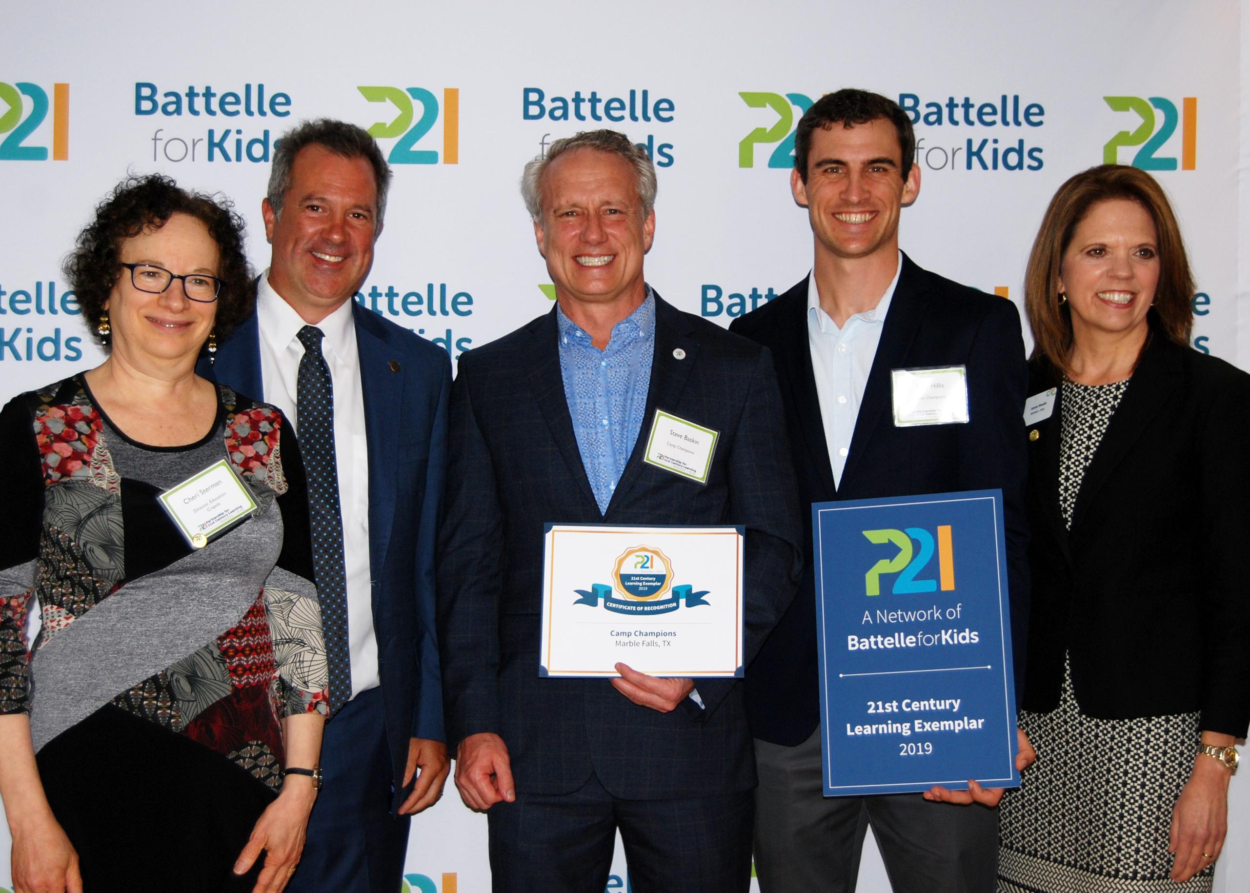 Batelle For Kids Exemplar