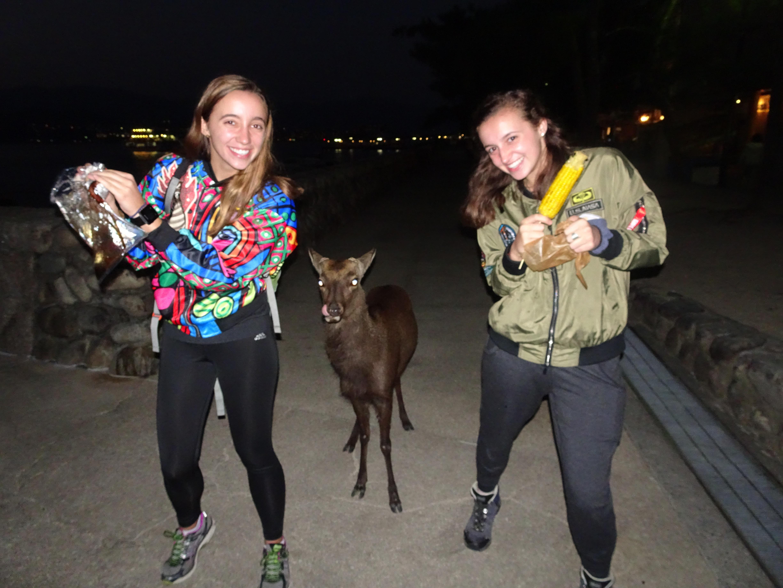 Deer and girls2.jpg