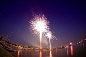 We had fireworks tonight!