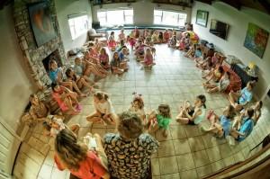 Girls cookie reception