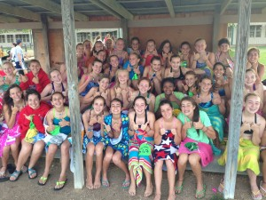 Lake Swim Girls