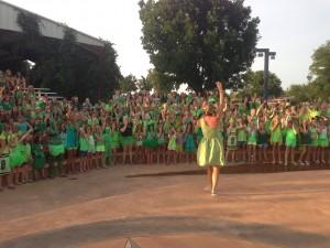 craw at Green Dance